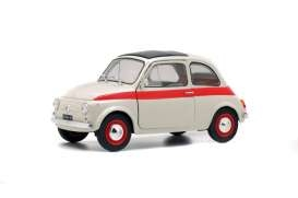 Fiat 500L Sport 1960 white/red 1:18 Solido