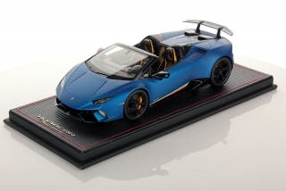 Lamborghini Huracan Performante Spyder Blue Aegeus Matt 1:43 Look Smart Models