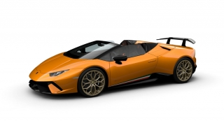 Lamborghini Huracan Performante Spyder Arancio Antha Matt 1:43 Look Smart Models