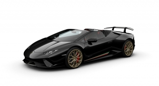 Lamborghini Huracan Performante Spyder Nero Helene 1:43 Look Smart Models