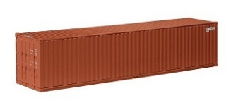 Container 40 ft brown 1:18 NZG