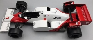 McLaren Tag Porsche MP4/2 #7 Alain Prost 1984 1:12 GP Replicas