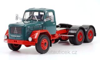 Magirus Jupiter 6x6 green/red 1:43 Ixo