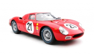 Ferrari 250 #21 J.Rindt/M.Gregory Winner 24 hours of Le Mans 1965 1:18 Amalgam