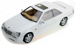 Mercedes-Benz AMG CL600 7.0 1998 white 1:18 LS Collectibles