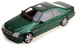 Mercedes-Benz AMG CL600 7.0 1998 green 1:18 LS Collectibles