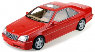 Mercedes-Benz AMG CL600 7.0 1998 red 1:18 LS Collectibles