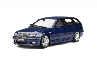BMW 330i (E46) Touring M Packet 2005 Mystic Blue 1:18 OttOmobile