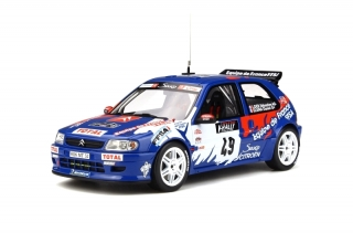 Citroen Saxo Kit Car #49 Loeb Rally Tour de Corse 1999 1:18 OttOmobile