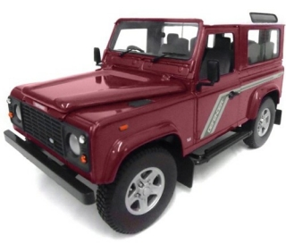 Land Rover Defender 90 TDi Station Wagon red/white 1:18 Universal Hobbies