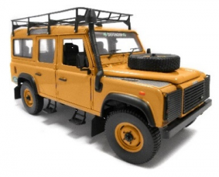 Land Rover Defender TDi 110 Station Wagon Sandglow exped. 1:18 Universal Hobbies