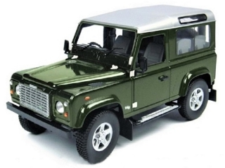 Land Rover Defender 90 TD5 Station Wagon bronze green 1:18 Universal Hobbies