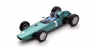 BRM P57 #3 Graham Hill Winner South African GP World Champion 1962 1:18 Spark