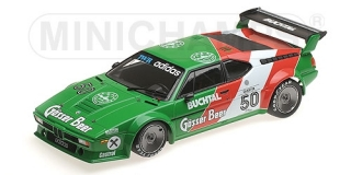 BMW M1 Procar Tom Walkinshaw Racing Dieter Quester Procar Series 1979 1:18 Minichamps