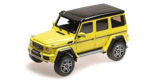 Mercedes-Benz G500 4x4 Concept yellow 1:18 Almost Real