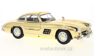 Mercedes-Benz 300 SL W198 (1954-1956) gold 1:18 Minichamps