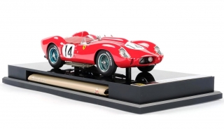 Ferrari 250 TR #14 Phil Hill/Peter Collins Winner 12H Sebring 1958 1:18 Amalgam