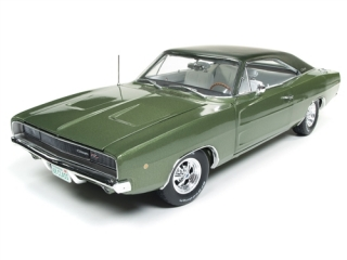 Dodge Charger R/T Class of 68 (50th Anniversary) 1968 medium green 1:18 Auto World
