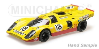 Porsche 917 K AAW Racing Team with David Piper 24h Le Mans 1970 1:12 Minichamps