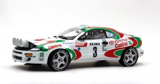 Toyota Celica GT4 Turbo 4WD ST185 (night version) Team Castrol #3 Winner Rally Monte Carlo 1993 1:12 Top Marques Collectibles