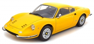 Ferrari 246 GT Dino 1973 yellow 1:12 KK Scale