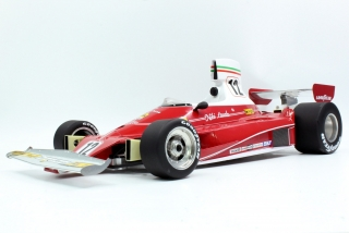 Ferrari F1 312 T #12 Niki Lauda 1975 World Champion 1:12 GP Replicas