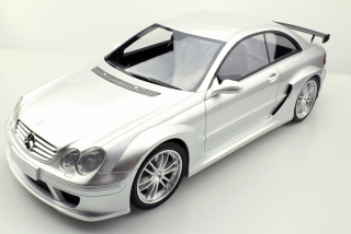 Mercedes-Benz CLK-Class AMG DTM Coupe 2002 silver 1:12 Top Marques Collectibles