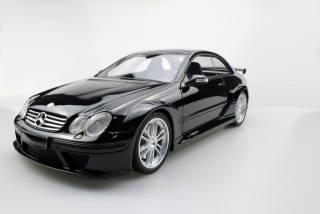 Mercedes-Benz CLK-Class AMG DTM Coupe 2002 black 1:12 Top Marques Collectibles