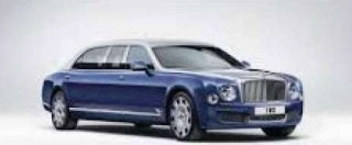 Bentley Mulsanne Grand Limousine By Mulliner 1:18 Almost Real
