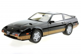 Nissan Fairlady 300 ZX Turbo 1984 black/gold 1:18 LS Collectibles