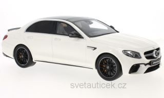 Mercedes-AMG E63 4Matic+ white series 1:18 GT Spirit