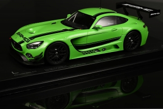 Mercedes AMG GT3 2016 green 1:18 Paragon