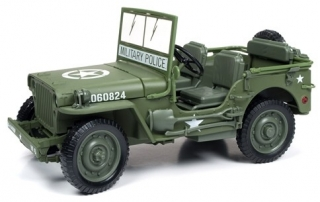 Willy Jeep 1941 army green 1:18 Auto World