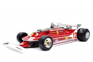 Ferrari F1 312T4 N 12 Short Tail 1979 G. Villeneuve 1:12 GP Replicas