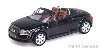 Audi TT Roadster 1998 black 1:18 Minichamps