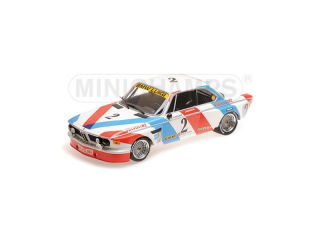 BMW 3.0 CSL Luigi Racing De Fierlant/Xhenceval Winners 24H Spa 1975 1:18 Minichamps