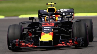 Red Bull #33 M.Verstappen Winner Mexican GP 2018 1:18 Spark