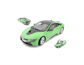 BMW i8 2017 green 1:18 Paragon