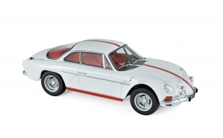 Renault Alpine A110 1600S 1971 white/red 1:18 Norev