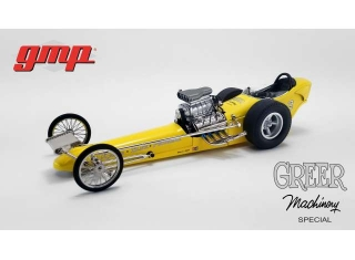 Vintage Dragster Greer Prudhomme Dragster black 1:18 G.M.P.