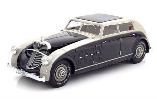 Maybach Zeppelin DS8 Stromlinie Spohn grey/black 1:18 CMF