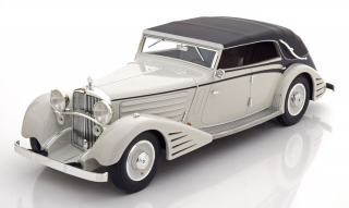 Maybach DS8 Stromlinien-Cabrio Spohn 1934 grey/black 1:18 CMF