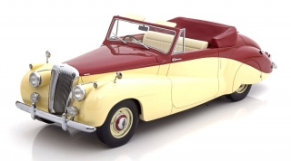 Daimler DB 18 Special Sports by Baker 1952 red metallic/beige 1:18 CMF