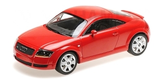 Audi TT Coupe 1998 red 1:18 Minichamps