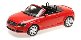 Audi TT Roadster 1998 red 1:18 Minichamps
