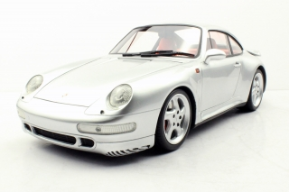 Porsche 911 993 Turbo Coupe 1998 silver 1:12 Top Marques Collectibles