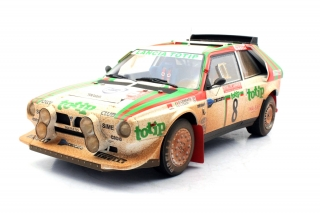 Lancia Delta S4 Totip #8 Cerrato/Cerri 2nd Rally Sanremo 1986 dirty version 1:12 Top Marques