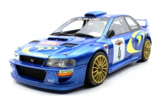 Subaru Impreza S4 WRC #4 Liatti/Pons 2nd Rally San Remo 1998 1:18 Top Marques Collectibles