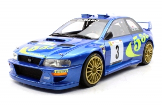 Subaru Impreza S4 WRC #3 McRae/Grist Winner Rally Portugal 1998 1:18 Top Marques Collectibles