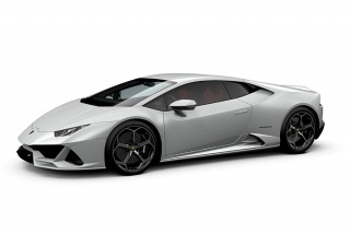 Lamborghini Huracan Evo Bianco Icarus (Metallic) 1:43 Look Smart Models